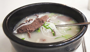 先农汤(牛骨炖汤)