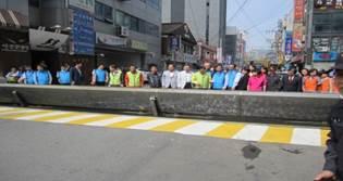 """首次设置""""自动道路挡水板"""",组建6万吨规模蓄水空间"""