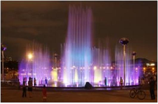 纛岛「音乐喷泉」
