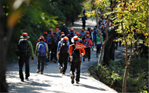 """挑战""""迎春徒步157km首尔外环步道""""吧"""