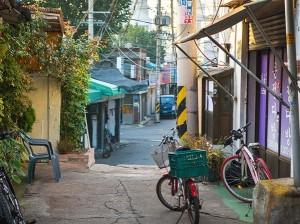 韩国首尔文来洞艺术村