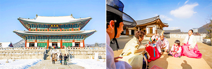 春节期间首尔景福宫、昌德宫、德寿宫、昌庆宫四大古宫免费对游客开放