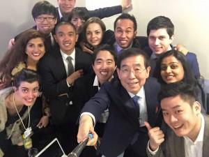 朴元淳市长出席达沃斯第46届世界经济论坛年会