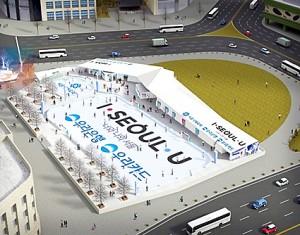首尔广场溜冰场