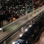 贞陵川高架,于比预期早两天的2016年3月19日重新开放车辆通行