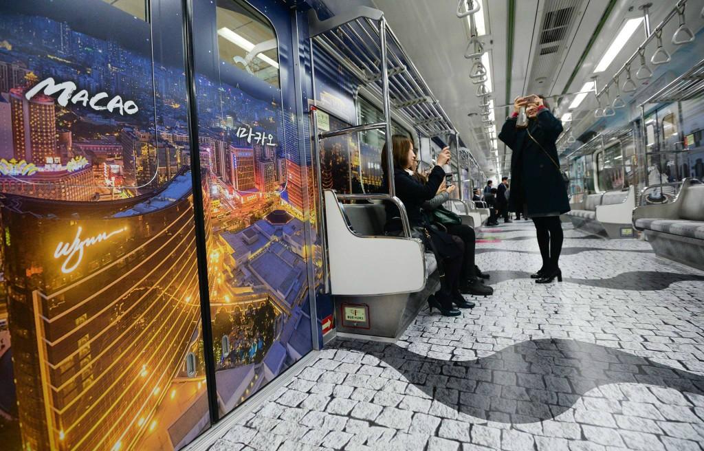 首尔地铁7号线大变身啦!