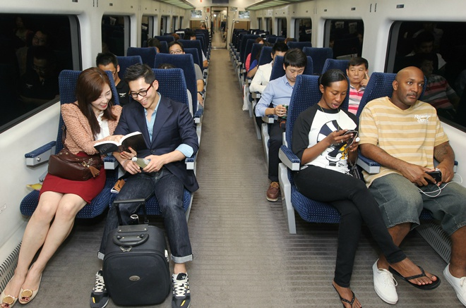 韩国机场直达地铁开始提供免费Wi-Fi服务啦!