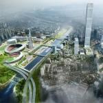为营建国际交流综合地区而发表蚕室综合运动场一带总体规划