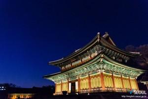 夜间开放的首尔古宫——昌德宫