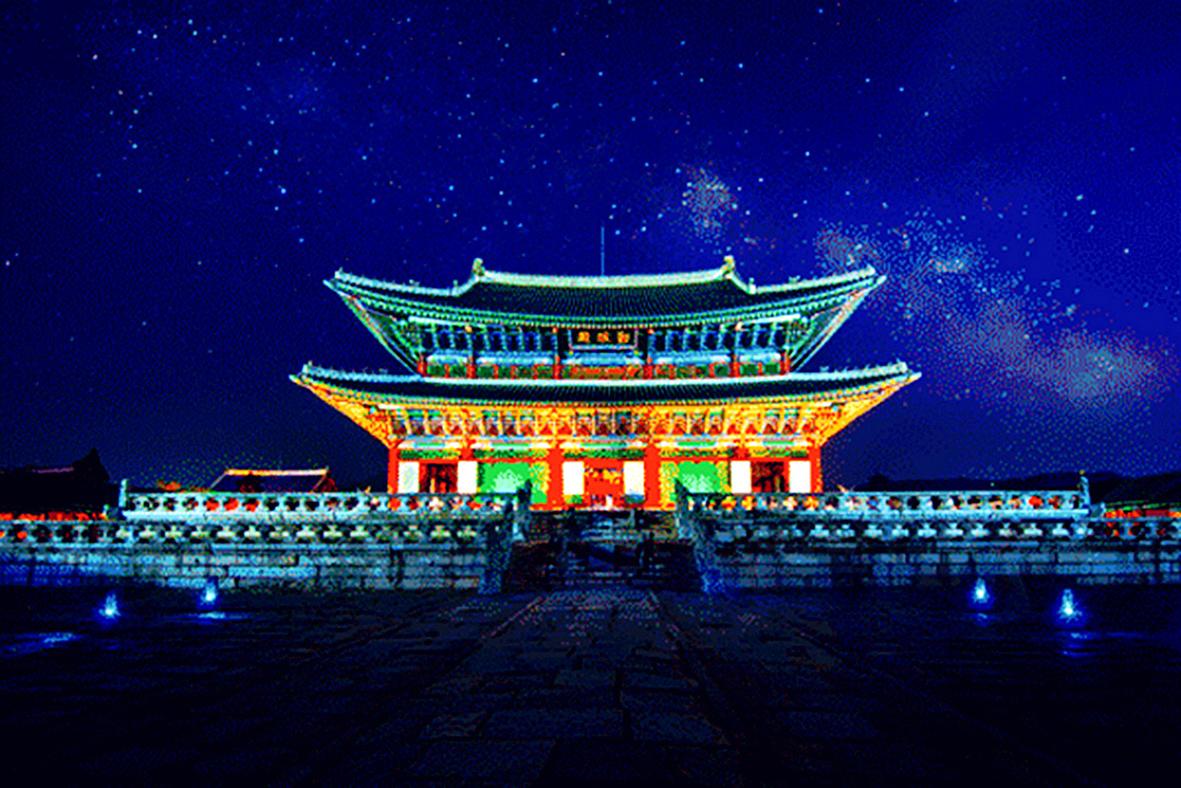 夜之景福宫(一)
