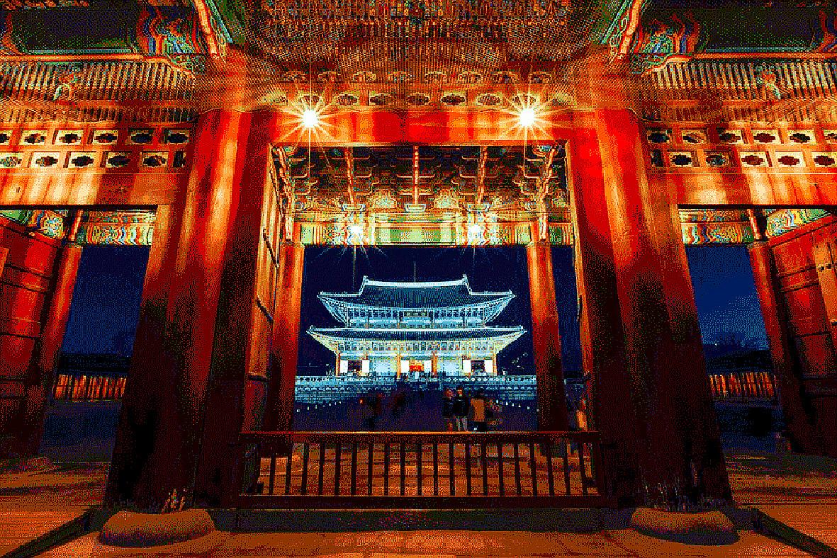 夜之景福宫(二)