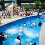 汉江户外游泳池于6月24日开张