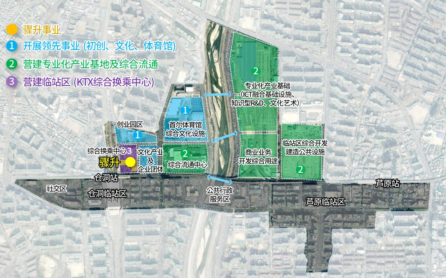 仓洞、上溪新经济中心营建事业