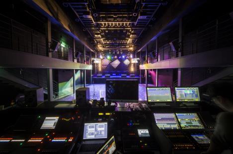 音乐和表演的中心 — 文化艺术空间