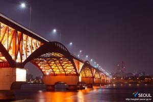 汉江大桥夜景
