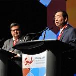 """朴元淳市长,在GSEF总会中指出""""全球经济危机的解决方法是社会经济"""""""