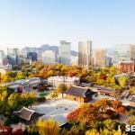 首尔市区中的秋天