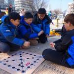 在首尔享受春节文化活动