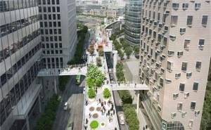 首尔路7017-连通周边两座大型建筑