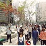 首尔路7017开放仅一个月,访客高达203万名