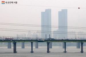 首尔市,可在7分钟内向市民传送微尘、臭氧警报