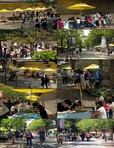 """首尔市代表性的社会经济集市 """"德寿宫集市""""重新开幕"""