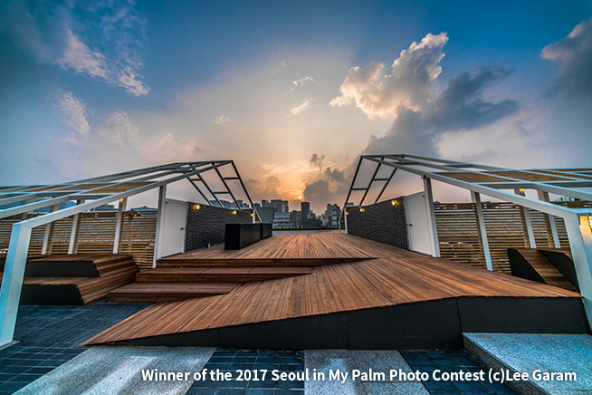 Winner of the 2017 Seoul in My Palm Photo Contest (c) Lee Garam