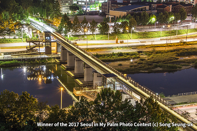 Winner of the 2017 Seoul in My Palm Photo Contest (c) Song Seung-uk
