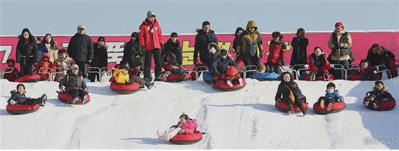 纛岛雪橇场露天雪橇场