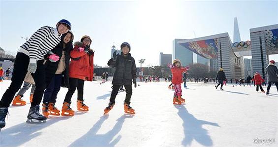 奥林匹克公园和平广场溜冰场
