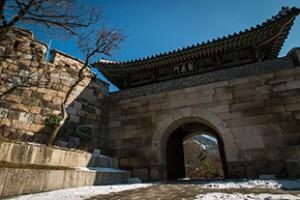 汉阳都城路第4条路线:仁王山区段