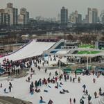 纛岛汉江公园雪橇场