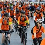 """4月8日开通钟路1至5街2.6公里""""自行车专用道"""
