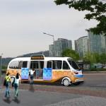 """首尔市在上岩建立全球首座融合5G服务的""""无人驾驶测试基地"""""""