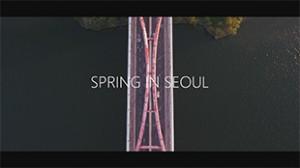 首尔之春延时摄影视频