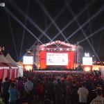 """首尔光化门广场举办""""俄罗斯世界杯""""街头助威战"""