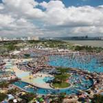 首尔汉江公园户外游泳池开放
