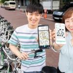 首尔公共自行车叮铃铃,可以用SNS账号登录、付费