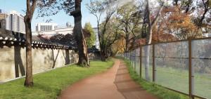 德寿宫石墙路尚未开放的70米区段将于10月完全开放