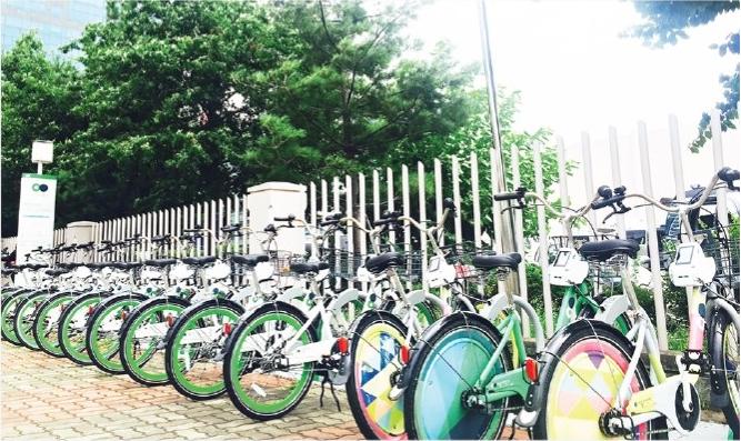"""首尔自行车——""""小叮铃"""""""