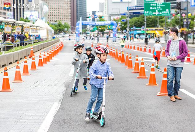 """无车出行吧!9月16日为""""首尔无车日"""" newsletter"""