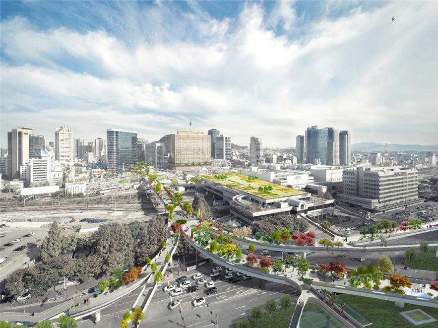 """首尔站7017Winy Maas的建筑设计""""首尔树木园"""""""