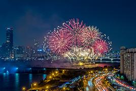 首尔世界烟花庆典