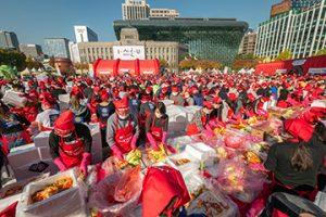 2018年首尔越冬泡菜文化节