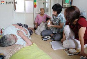 """首尔市在10个区实施上门拜访的""""首尔保健-健康看护""""服务,在全国尚属首次 newsletter"""