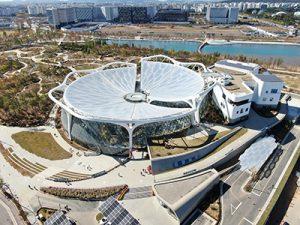 韩国首个植物公园——首尔植物园于5月1日正式开园