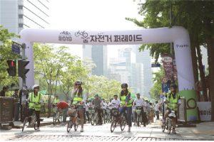 首尔市招募千名汉江自行车道骑行参与者