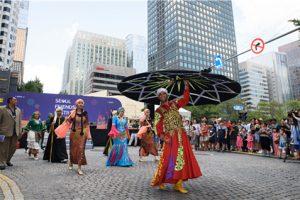 首尔市在首尔广场举办世界城市文化庆典
