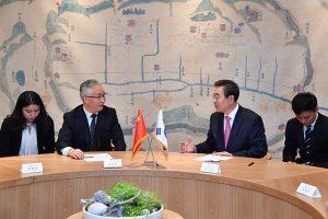 首尔市市长与中国天津市市长张国清探讨数字经济及智慧城市等合作方案 newsletter