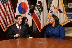 朴元淳市长1月9日与美国圣弗朗西斯科市长会晤 newsletter
